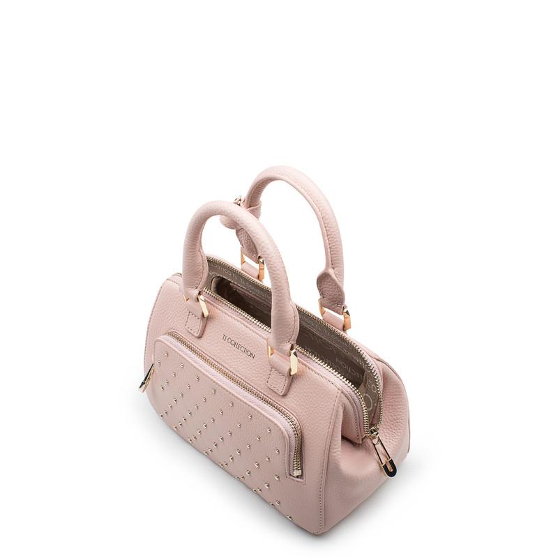 Pink Doctor Bag Mini XT 5149918 PNZ | TJ COLLECTION | Side Image - 3