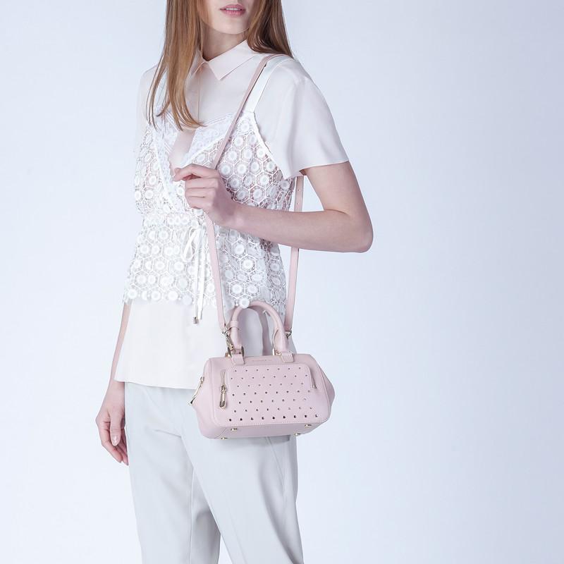 Pink Doctor Bag Mini XT 5149918 PNZ | TJ COLLECTION | Side Image - 4