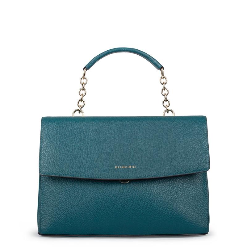 Emerald Green Satchel Bag  Lausanne YT 5338018 DGN