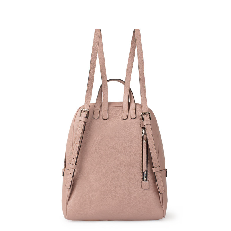 Grained Leather Soho Backpack YG 5320818 PNZ | TJ COLLECTION | Side Image - 2