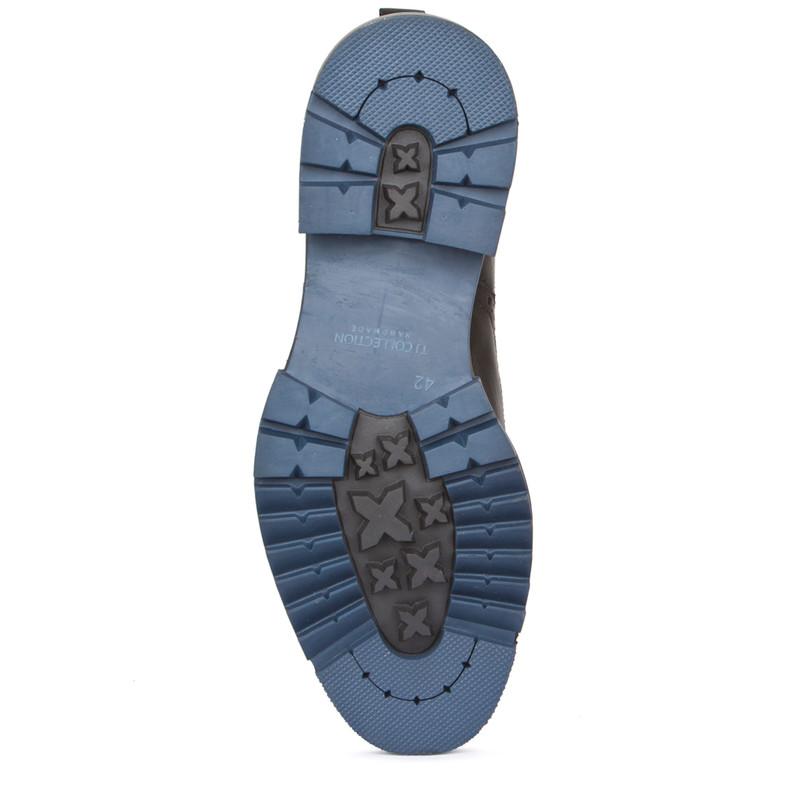 Men's Rubber Sole Chelsea Boots GB 7322018 BLK