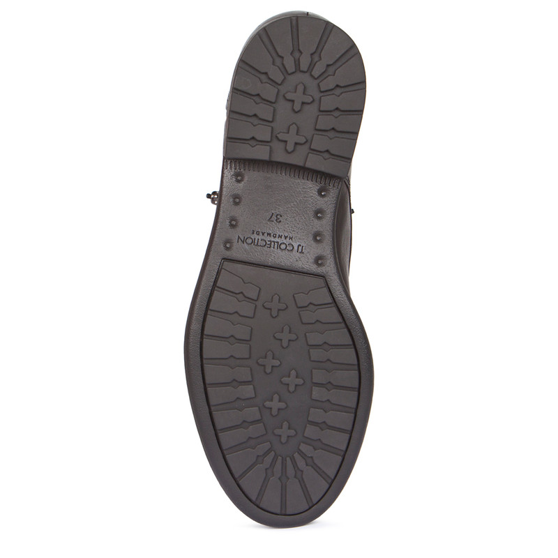 Women's Zip Trim Distressed Ankle Boots MP 5319918 BDA