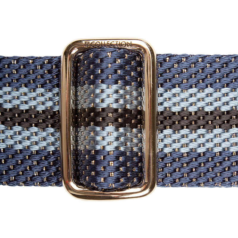 Blue Tracolla Bag Strap LC 5040138 BUM | TJ COLLECTION | Side Image - 1