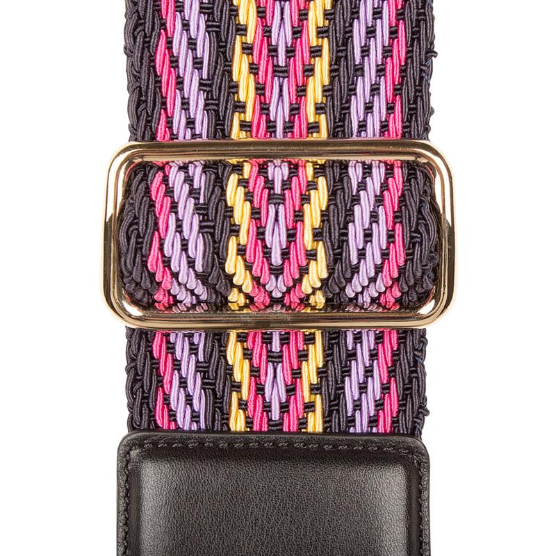 Multicolour Tracolla Bag Strap LC 5050838 NVM | TJ COLLECTION | Side Image - 1