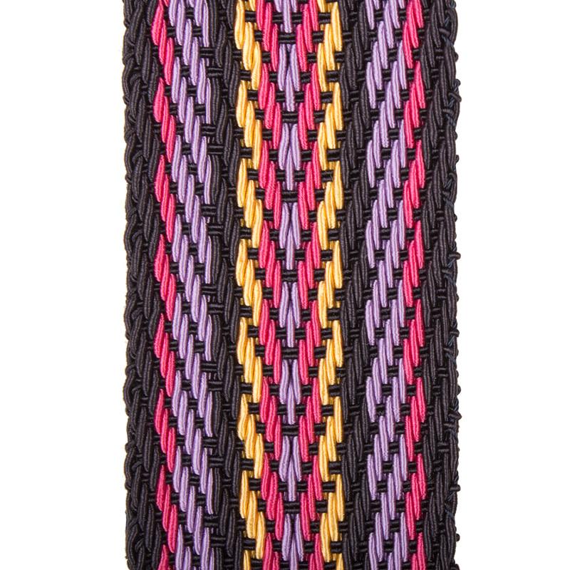 Multicolour Tracolla Bag Strap LC 5050838 NVM | TJ COLLECTION | Side Image - 2