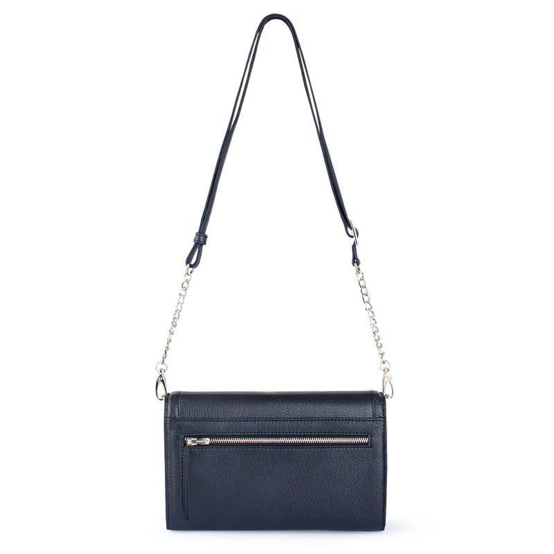 Graphite Leather Mini Bag Vienna YA 5120918 NVZ | TJ COLLECTION | Side Image - 2