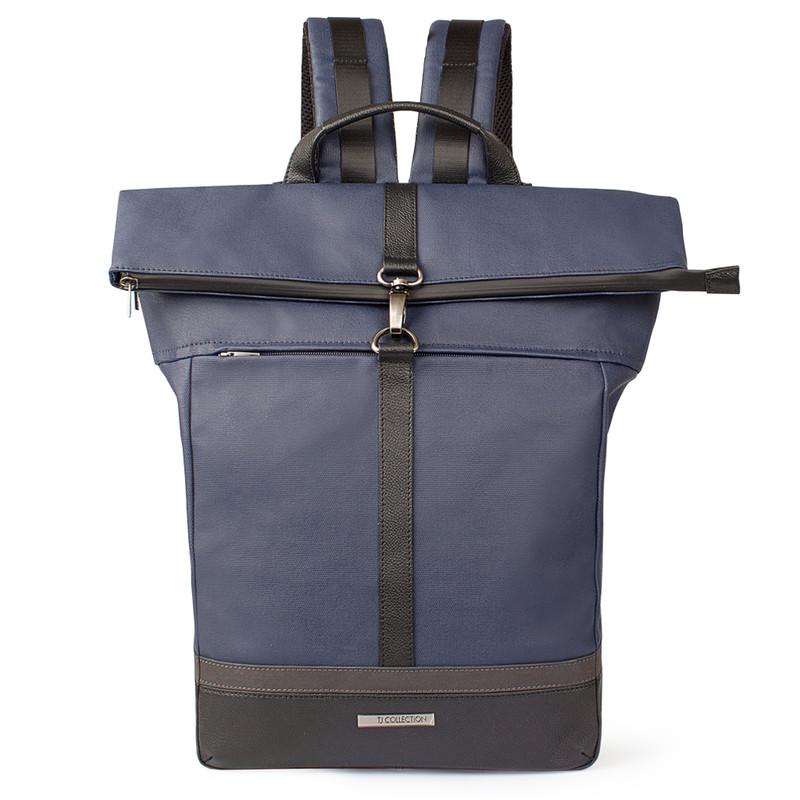 Edinburgh City Roll-Top Backpack YH 8473038 BLU