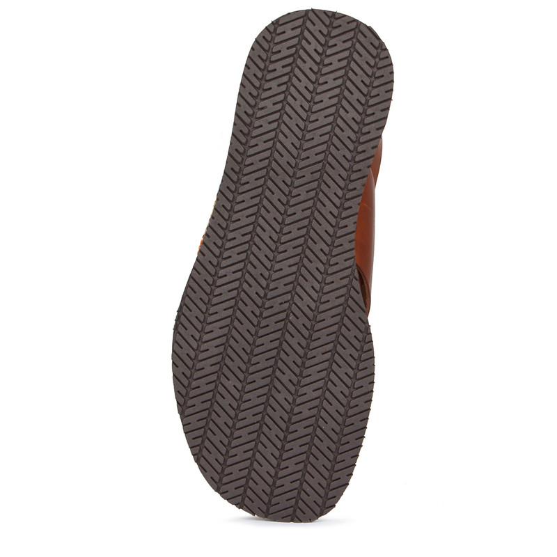 Men's Burnished Leather Sandals GA 7155239 CGM