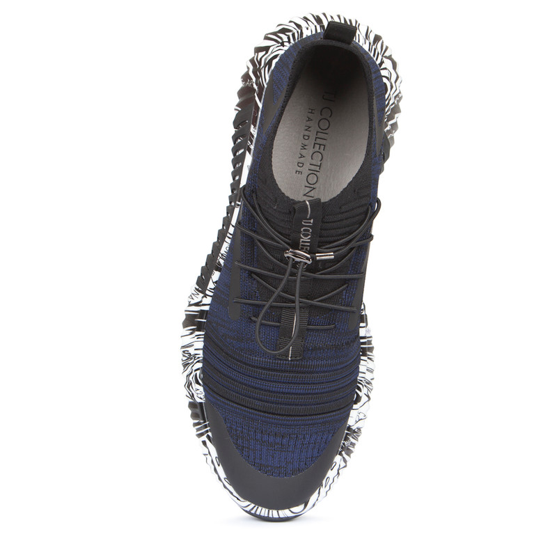 Men's 3D Knit Navy Trainers Freedom GK 7204129 BLU