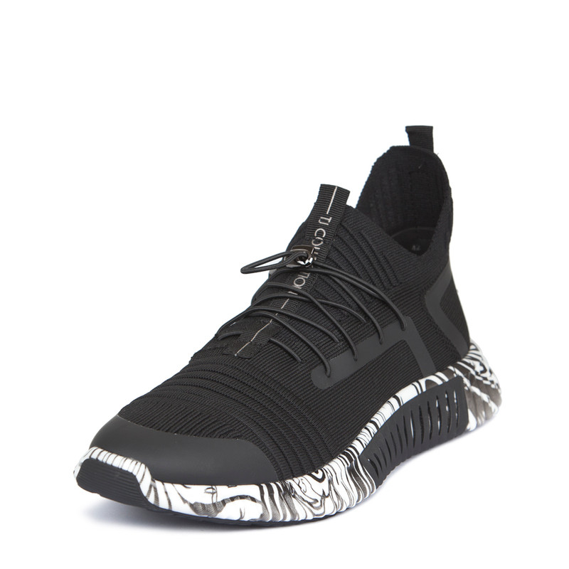 Men's High-Tech Black Trainers Freedom GK 7204129 BLZ | TJ COLLECTION | Side Image - 1