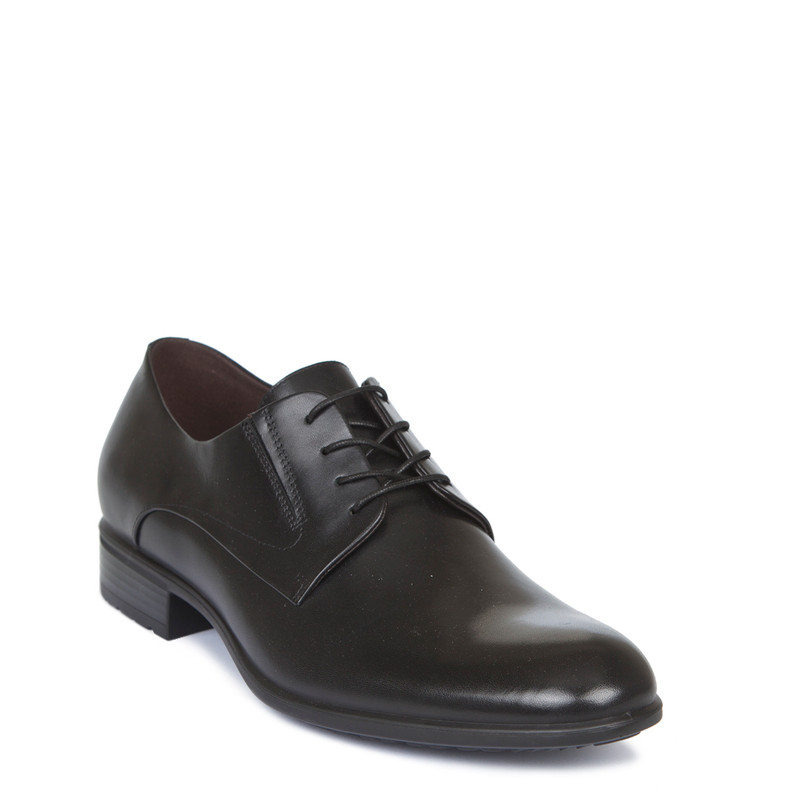 Men's Classic Business Derby Shoes MP 7222019 BLK | TJ COLLECTION | Side Image - 1