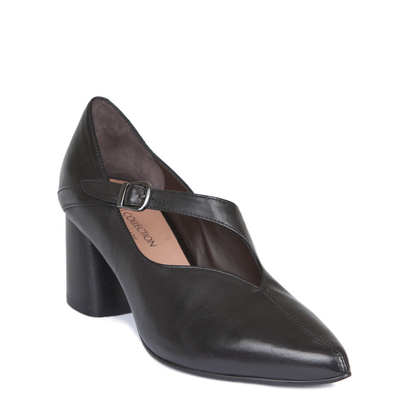 Women's Block Heel Pumps GP 5267819 BLK | TJ COLLECTION | Side Image - 1