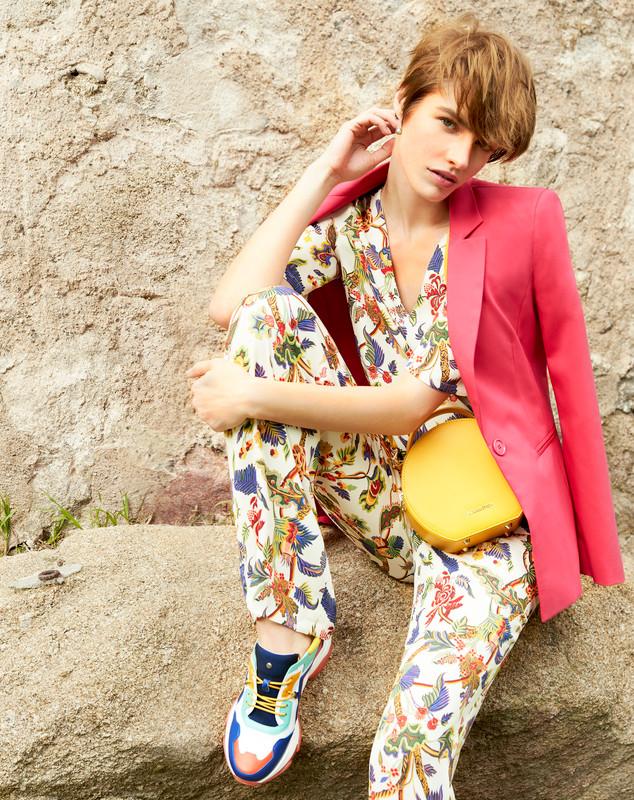 Citrus Yellow Leather Mini Bag Positano XN 5160019 YLW