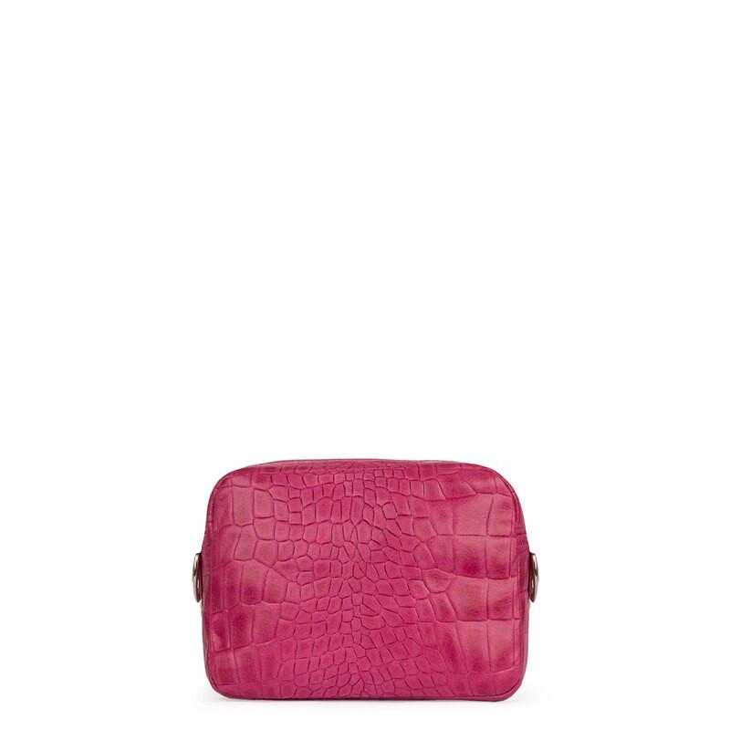 Fuchsia Leather Mini Bag Rimini YG 5104119 FXC