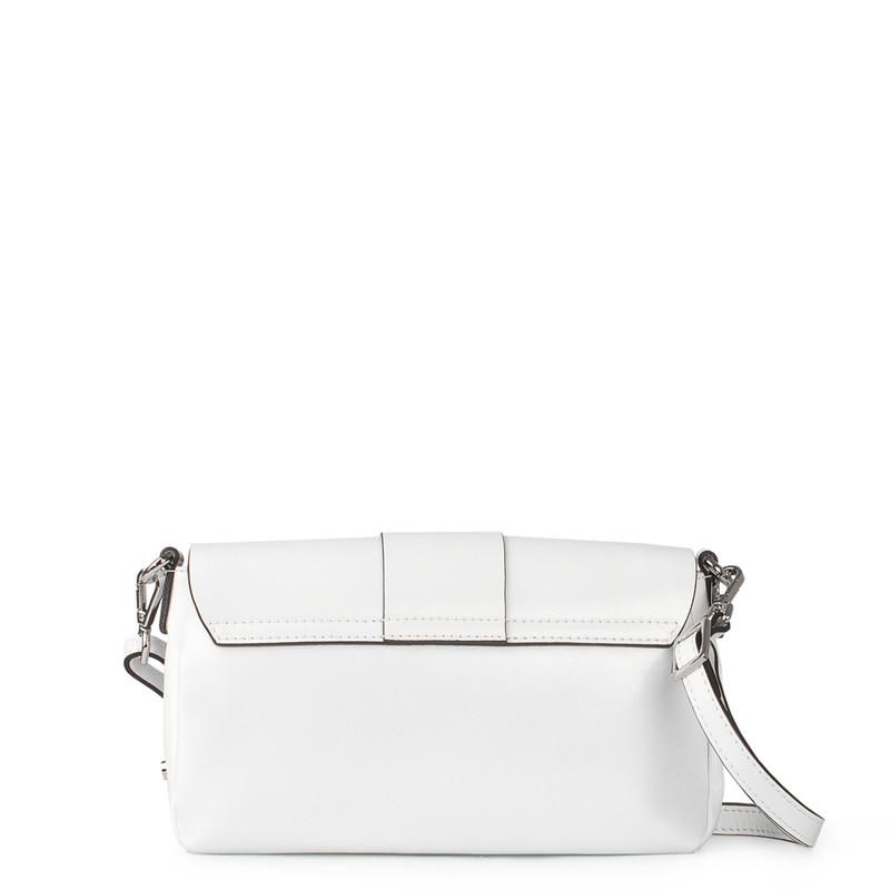 White Patent Leather Shoulder-Bag Saint-Tropez YG 5152619 WHP | TJ COLLECTION | Side Image - 2