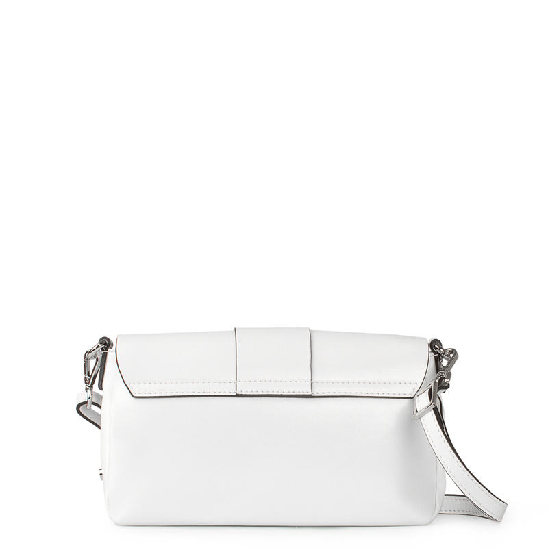 White Patent Leather Shoulder-Bag Saint-Tropez YG 5152619 WHP   TJ COLLECTION   Side Image - 2