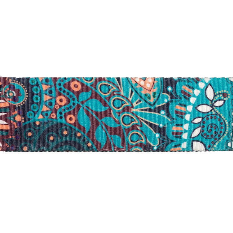 Blue Floral Tracolla Bag Strap LH 5050939 MLB | TJ COLLECTION | Side Image - 1