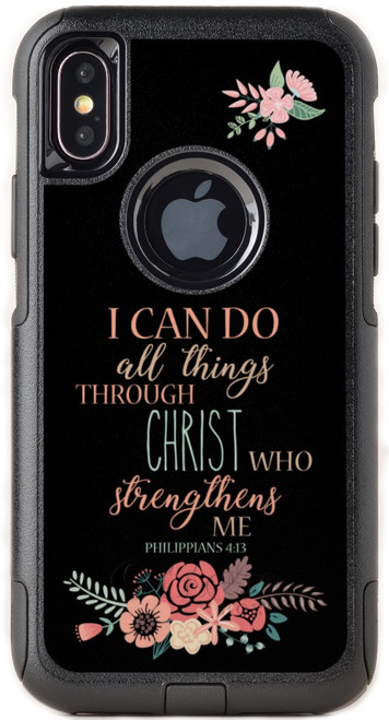 Biblical Scripture Philippians 4:13 OtterBox® Commuter Series® Phone Case