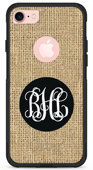 Burlap OtterBox® Commuter Series® Phone Case