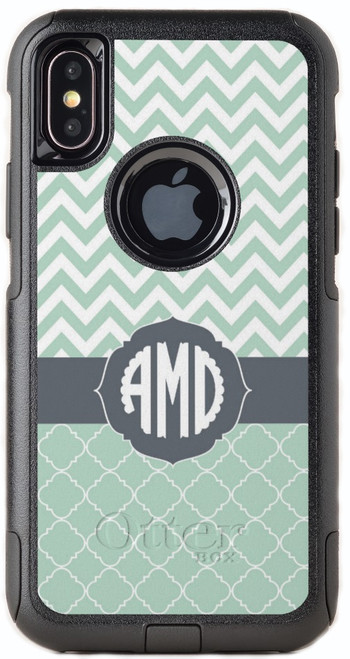 Clover Chevron OtterBox® Commuter Series® Phone Case