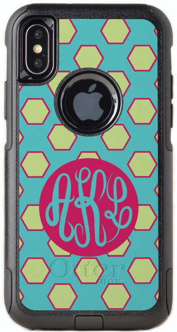 Hexagon Party OtterBox® Commuter Series® Phone Case