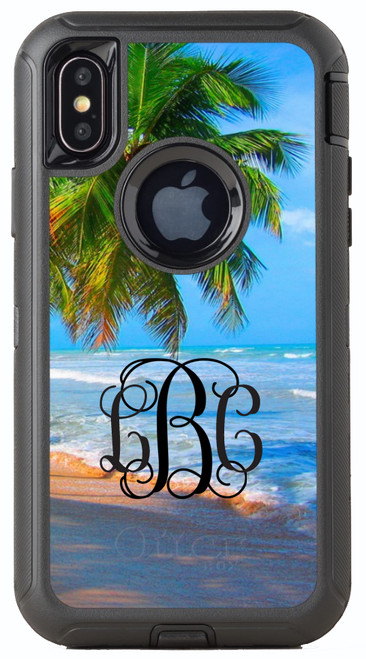 Beach Scene OtterBox® Defender Series® Phone Case