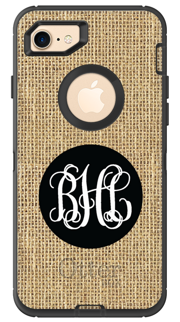 Burlap OtterBox® Defender Series® Phone Case