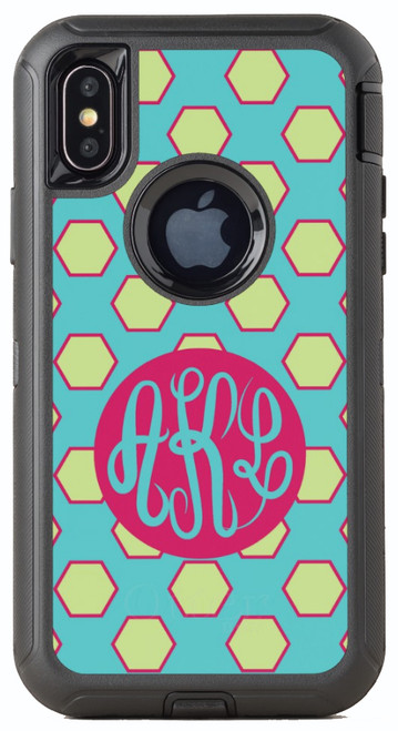Hexagon Party OtterBox® Defender Series® Phone Case
