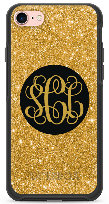 Gold Glitter OtterBox® Symmetry Series® Phone Case