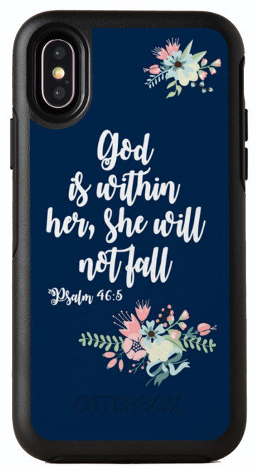 Biblical Scripture Psalm 46:5 OtterBox® Symmetry Series® Phone Case