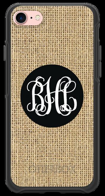 Burlap OtterBox® Symmetry Series® Phone Case