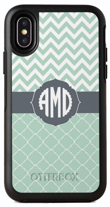 Clover Chevron OtterBox® Symmetry Series® Phone Case