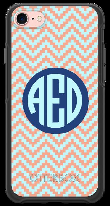 Pixel Chevron OtterBox® Symmetry Series® Phone Case