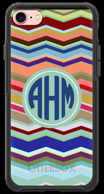 Preppy Chevron OtterBox® Symmetry Series® Phone Case