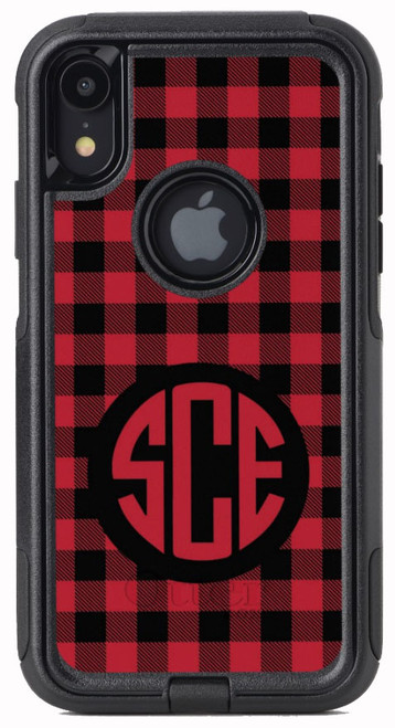 Red Buffalo Plaid OtterBox® Commuter Series® Phone Case