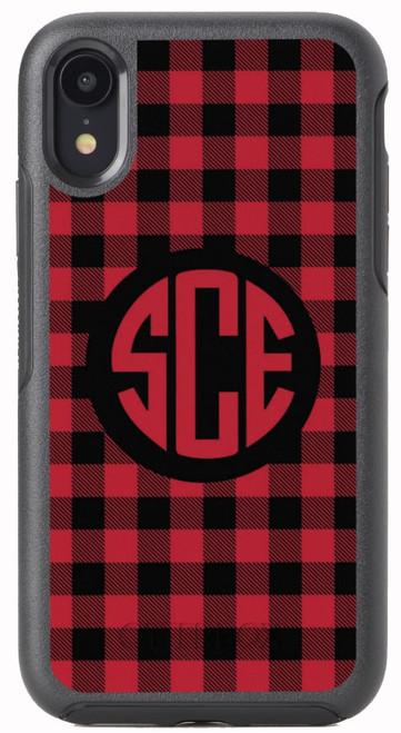 Red Buffalo Plaid OtterBox® Symmetry Series® Phone Case