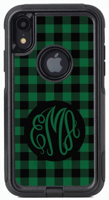 Green Buffalo Plaid OtterBox® Commuter Series® Phone Case