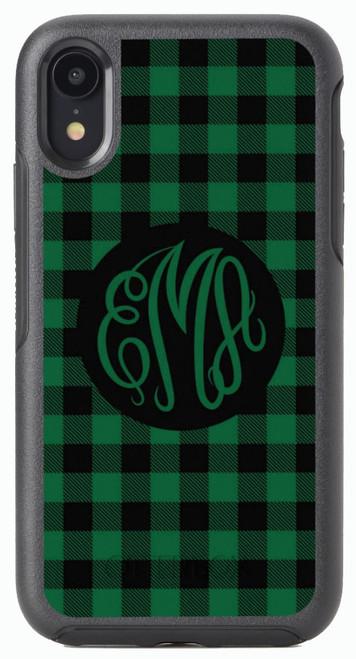 Green Buffalo Plaid OtterBox® Symmetry Series® Phone Case