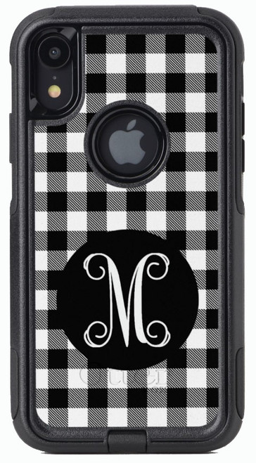 Black Buffalo Plaid OtterBox® Commuter Series® Phone Case