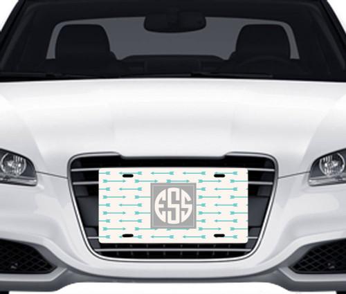 Arrows Car Tag