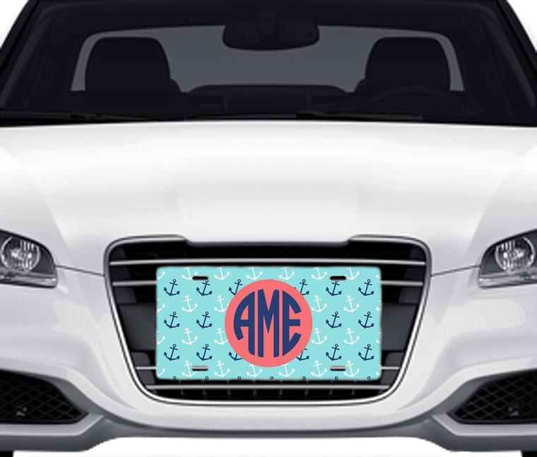 Anchors Car Tag