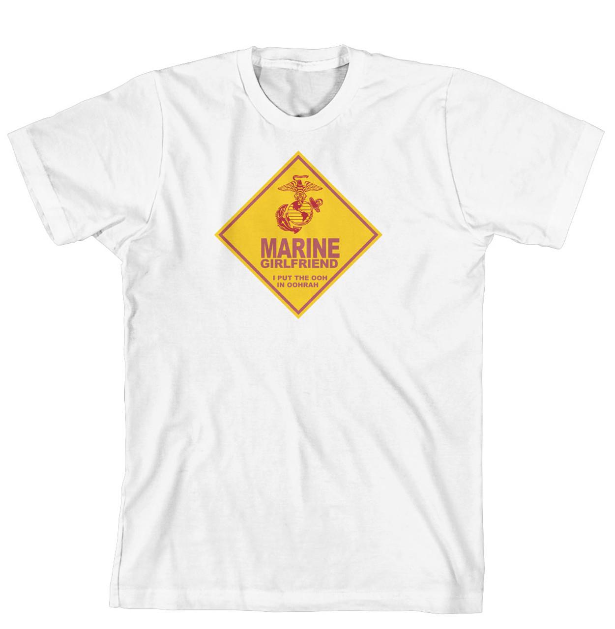 T-Shirt - Marine Girlfriend. I put the Ooh in Hoorah (170-