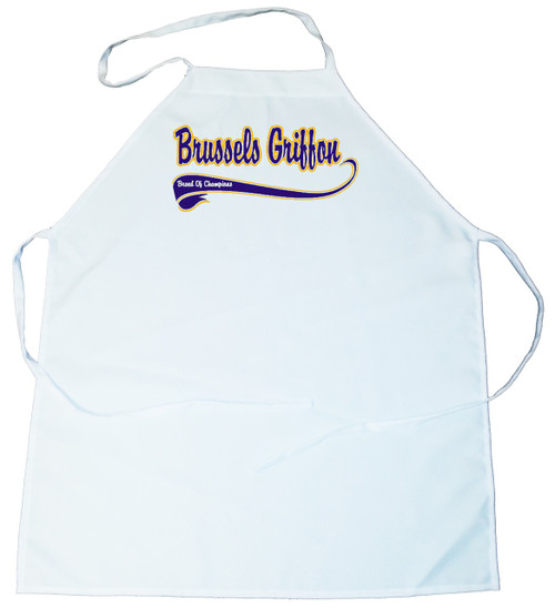 Breed of Champion (Blue) Apron - Brussels Griffon (100-0002-170)