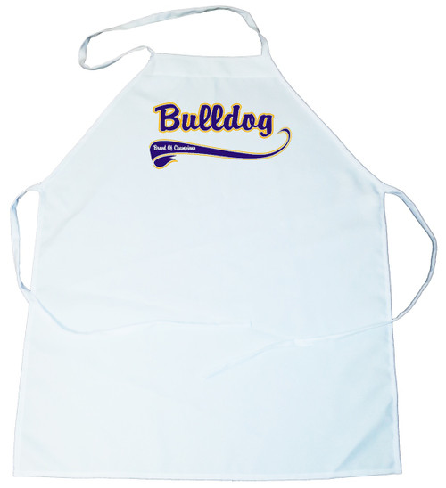 Breed of Champion (Blue) Apron - Bulldog (100-0002-174)