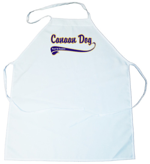 Breed of Champion (Blue) Apron - Canaan Dog (100-0002-180)