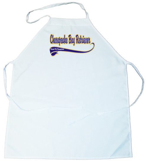 Breed of Champion (Blue) Apron - Chesapeake Bay Retriever (100-0002-186)