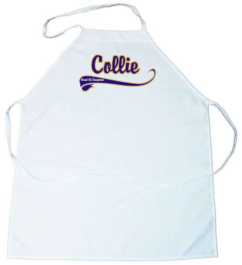Breed of Champion (Blue) Apron - Collie (100-0002-200)