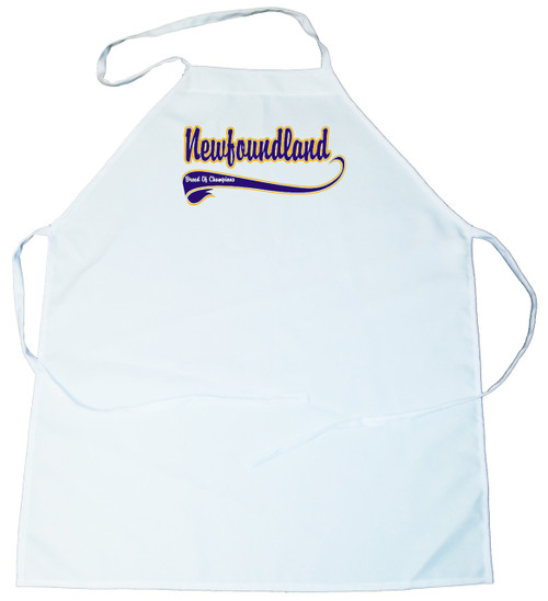 Breed of Champion (Blue) Apron - Newfoundland (100-0002-306)