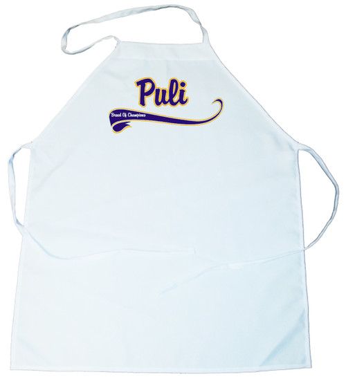 Breed of Champion (Blue) Apron - Puli (100-0002-346)