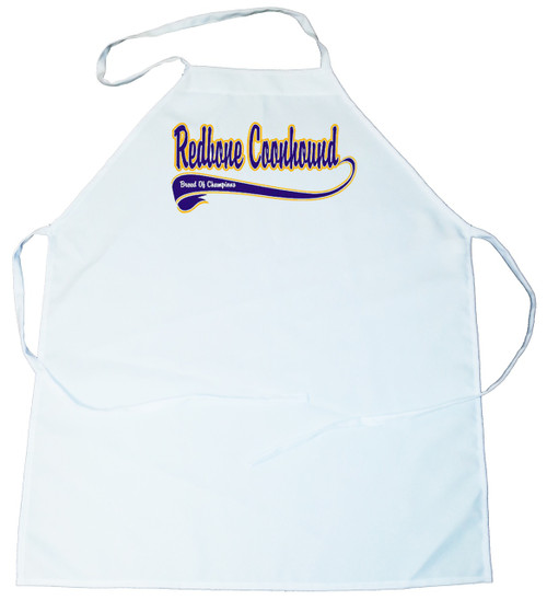 Breed of Champion (Blue) Apron - Redbone Coonhound (100-0002-348)